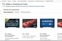 Amazon inicia venda de artigos eletrônicos no País