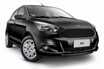 Ford amplia oferta dos modelos Ka e Ka +, para defender liderança nos seus segmentos