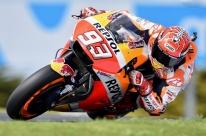 Márquez é o mais rápido na Austrália e fatura sétima pole do ano na MotoGP