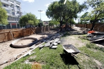 Praça na avenida Ipiranga estará de cara nova até dezembro