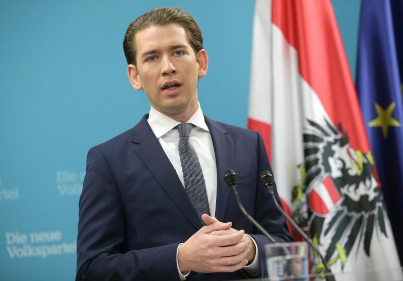 Kurz determinou que 'condição básica' para coalizão é 'direção claramente pró-Europeia'