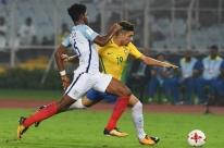 Brasil perde da Inglaterra e para nas semifinais do Mundial sub-17