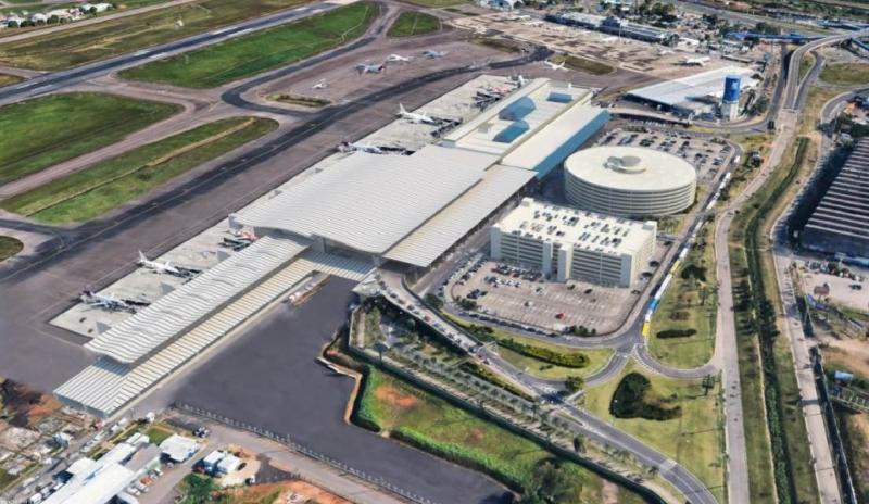 Grupo alemão pretende ampliar o terminal de passageiros e a pista, e investir em complexo de cargas