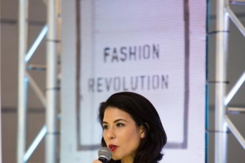 Cariane Camargo, uma das organizadoras do M.A.R - Moda.Arte.Revolução, que será realizado no dia 18 de novembro, na rua Miguel Tostes, em Porto Alegre