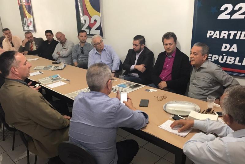 Reunião do deputado federal Giovani Cherini - foto Luiz Henrique assessoria PR