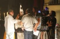 Theatro São Pedro é palco das cenas do filme sobre Gumercindo Saraiva