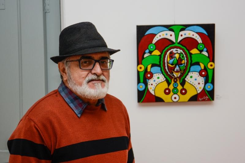 Francisco Carlos Moura Alves abre a mostra Chico Cau: Do Sonho à Realidade
