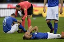 Itália só empata com a Suécia e está fora da Copa pela primeira vez desde 1958