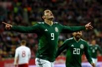 Em amistoso entre classificados para Copa, México bate a Polônia fora de casa