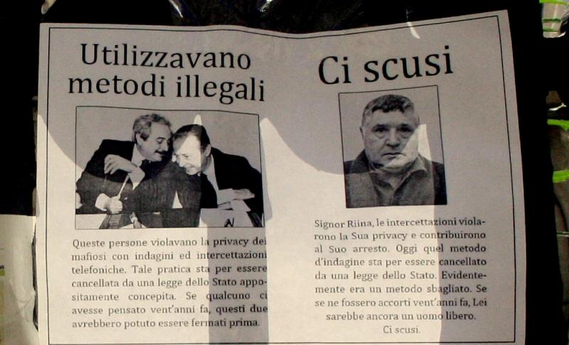 Toto Riina, padrinho da máfia siciliana, morre aos 87 anos
