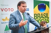 Maia defende candidatura 'reformista' ao Planalto