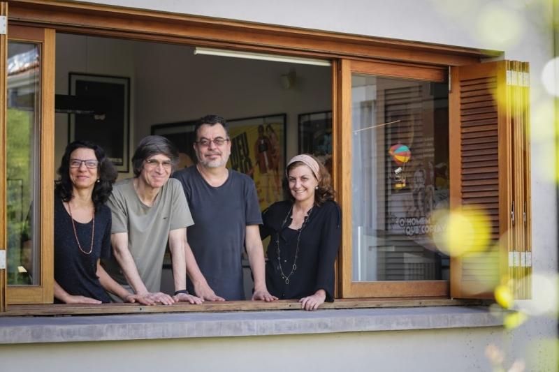 Nora Goulart, Giba Assis Brasil, Jorge Furtado e Ana Luiza Azevedo