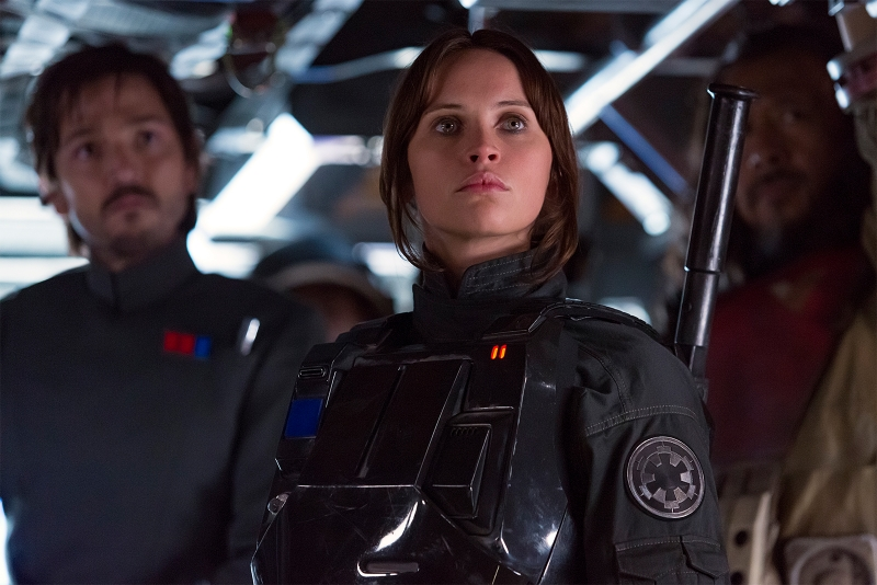 Felicity Jones protagoniza Rogue One: Uma História Star Wars