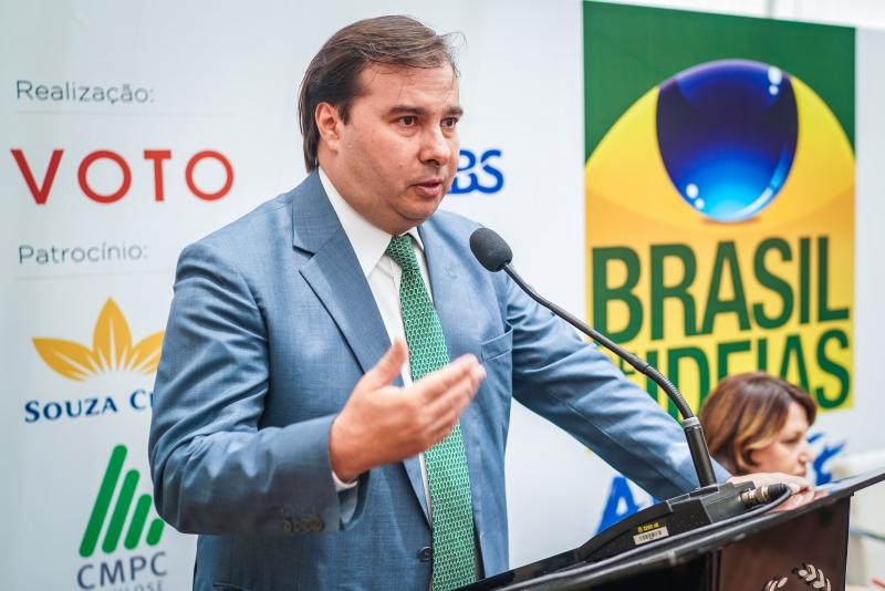 Fala de Lula sobre reforma da Previdência é 'populista', diz Rodrigo Maia
