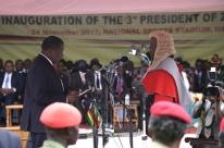 Ex-vice de Mugabe, Mnangagwa toma posse como presidente do Zimbábue