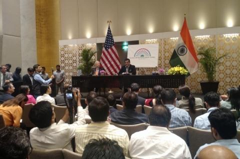 Embaixador dos EUA na Índia antecipou as expectativas para o evento