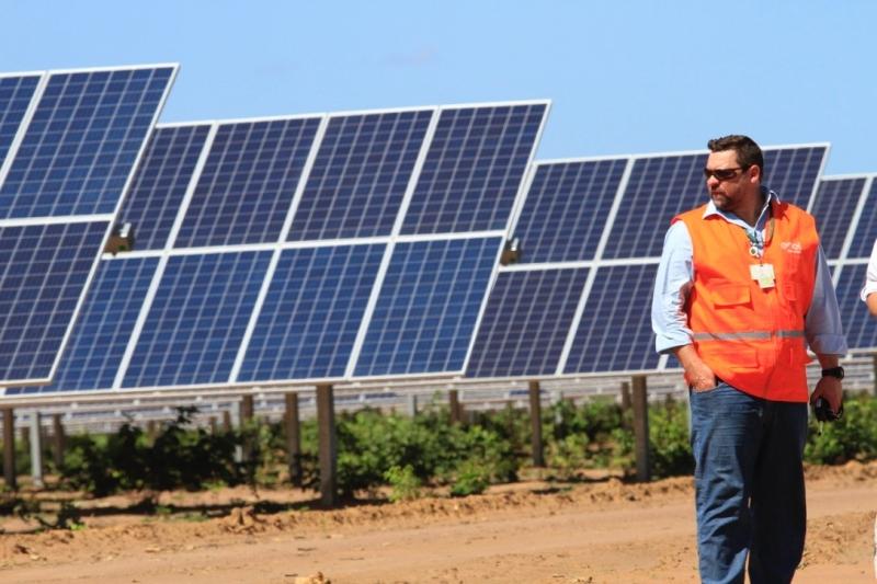 Parque Solar Nova Olinda abriga 930 mil painéis em 690 hectares