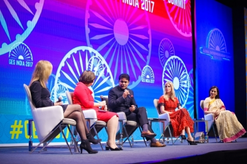 The United States and India co-hosted the Global Entrepreneurship Summit (GES) November 28-30, 2017 in Hyderabad, India. GES is the preeminent annual entrepreneurship gathering that convenes emerging entrepreneurs, investors and supporters from around the world.