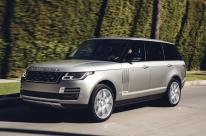 Land Rover apresenta o seu modelo mais luxuoso