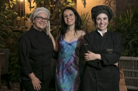 Patissêr Andréa Schein, Betina Mariante e a chef Roberta Gomes