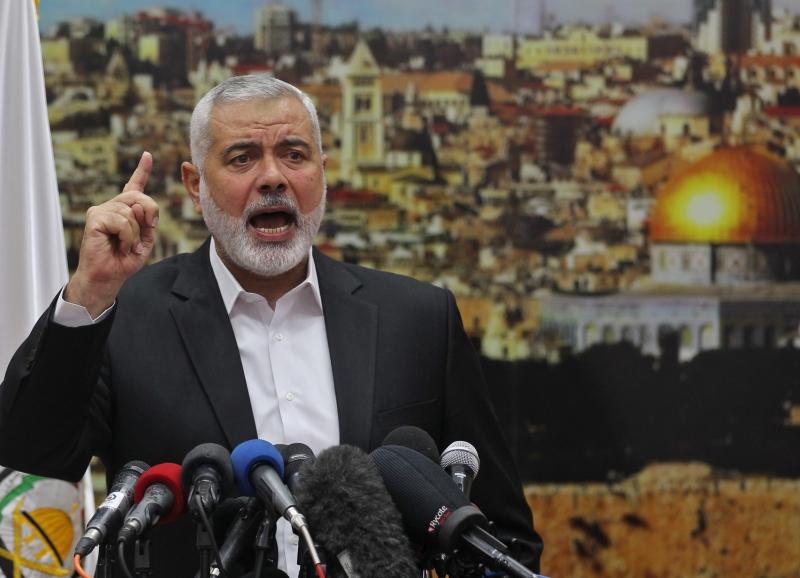 Haniyeh pediu que palestinos, muçulmanos e árabes se manifestem contra a decisão