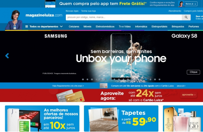 Site com marktplace do Magazine Luiza seria usado por vendedores para buscar serviços