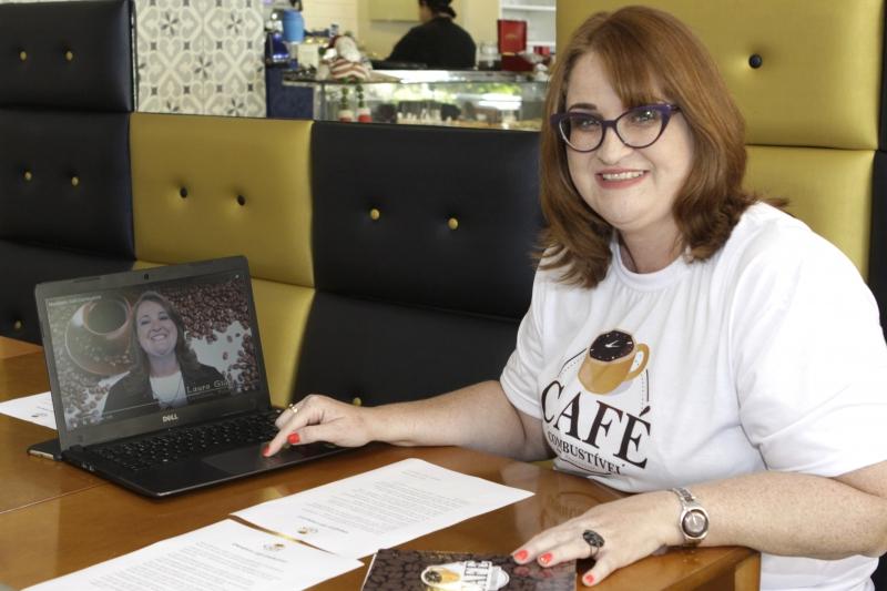 Lançamento da plataforma digital Café Combustível  Na foto: Laura Glüer