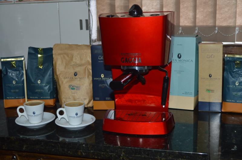 Primeiro prêmio inclui uma máquina de café italiana da marca Gaggia