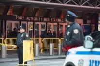 Explosão atinge área de terminal de ônibus em Nova Iorque