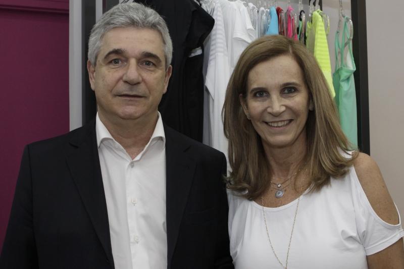 Luiz Fernando Zachia e Rosa Zachia estão à frente da loja