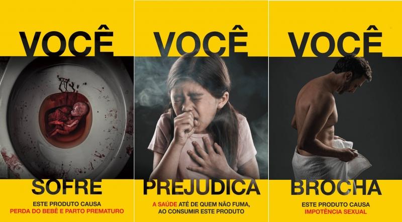 Resultado de imagem para Anvisa divulga novas imagens de advertência para embalagens de cigarros
