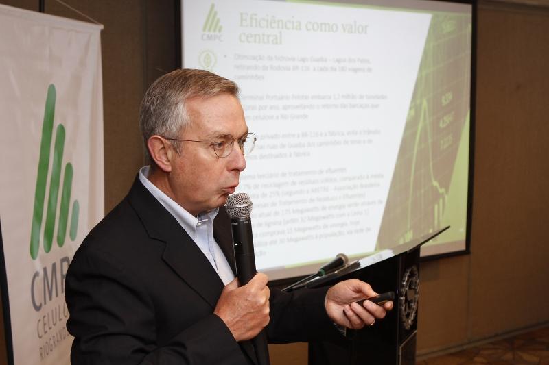 Diretor-presidente da CMPC disse que o grupo quer implantar nova unidade e no sul do eEstado