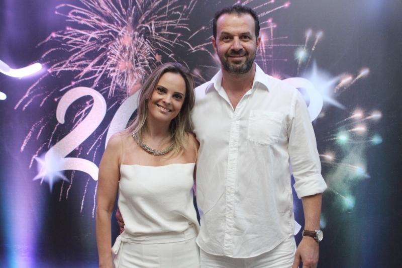 Patrícia Pereira e Marcelo Lerner