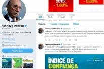 No Twitter, Meirelles comemora alta do índice de confiança empresarial