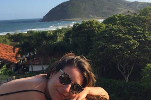 Juliana Schmidt Machado Bastian, jornalista, louca por gastronomia e por Santa Catarina