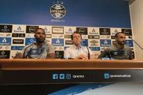 'Todos sabiam meu nome', comemora Thaciano em apresentação no Grêmio