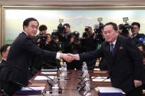 Em encontro, Coreias do Norte e do Sul promovem reaproximação