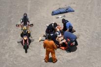 Atual campeão nas motos, Sam Sunderland sofre queda e abandona o Rally Dakar