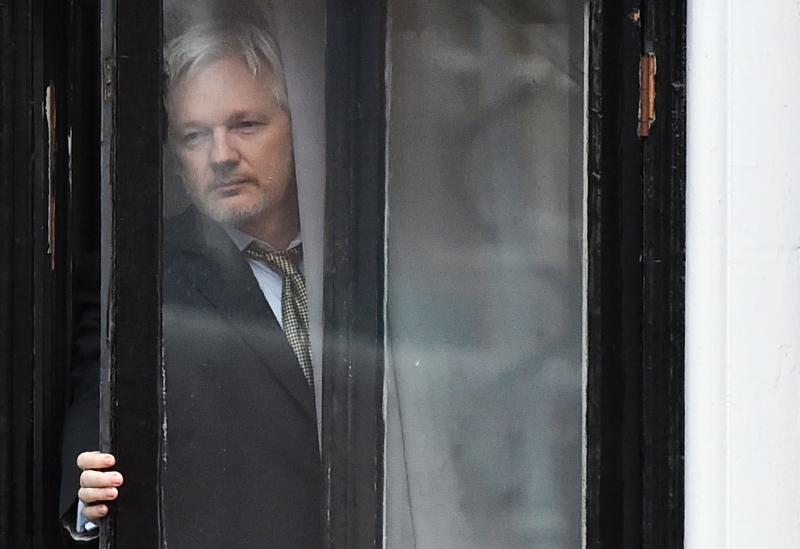Assange foi preso no mês passado no Reino Unido por violação de sua liberdade condicional