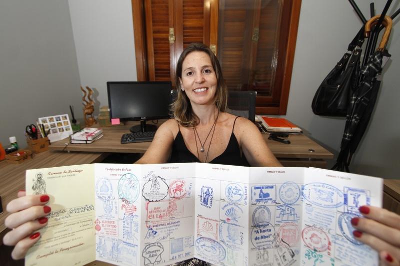 GE Matéria sobre período sabático. Entrevista com a advogada Roberta Guimarães Carvalho que percorreu o Caminho de Santiago.
