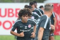 Pouco aproveitado e alvo de sondagens, Camilo pode deixar o Inter