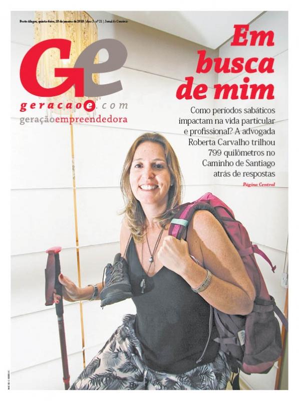 Capa da edição do dia 18 de janeiro de 2018