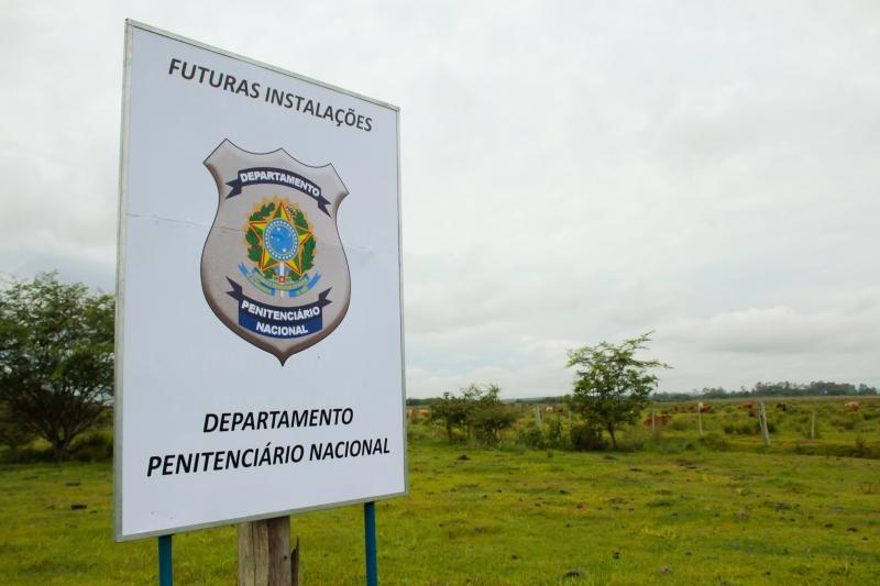 Área que receberá prisão tem 25 hectares e fica às margens da ERS-401, no município de Charqueadas