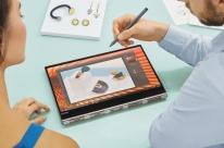 Yoga 920 traz caneta ativa e leitor de impressão digital