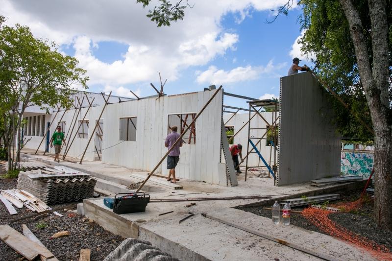 Obras estão ocorrendo na instituição desde o mês de novembro