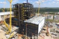 Usina Pampa Sul está com 75% das obras concluídas