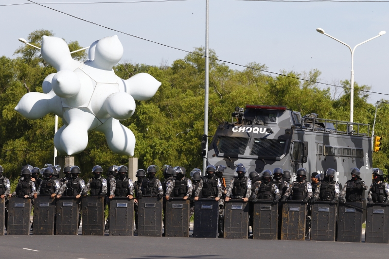Acampamento já está sendo montado em Porto Alegre — Julgamento de Lula