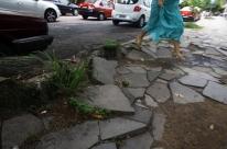 Calçadas são problema em bairros centrais da Capital