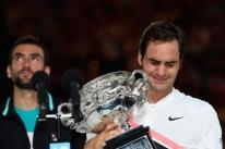 Federer bate Cilic, vence Aberto da Austrália e conquista seu 20º Grand Slam