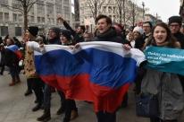 Principal opositor de Putin, Navalny é detido em protesto no centro de Moscou